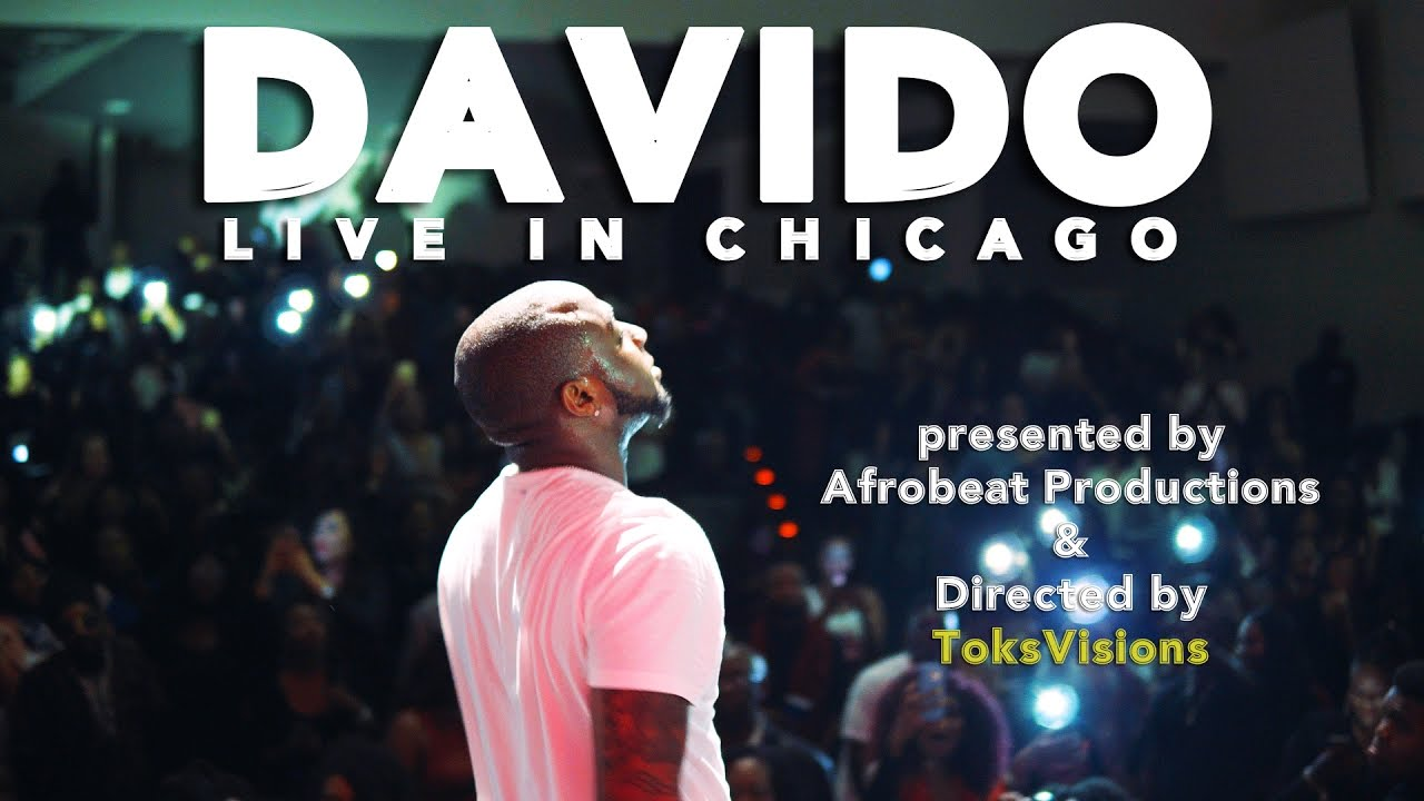 Video davido performs if his live band concert in for Chicago house music songs