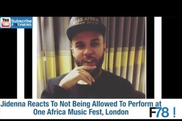F78NEWS: One Africa Fest Shut Down, Jidenna Reacts, Anthony Joshua Receives Letter From Ooni of Ife