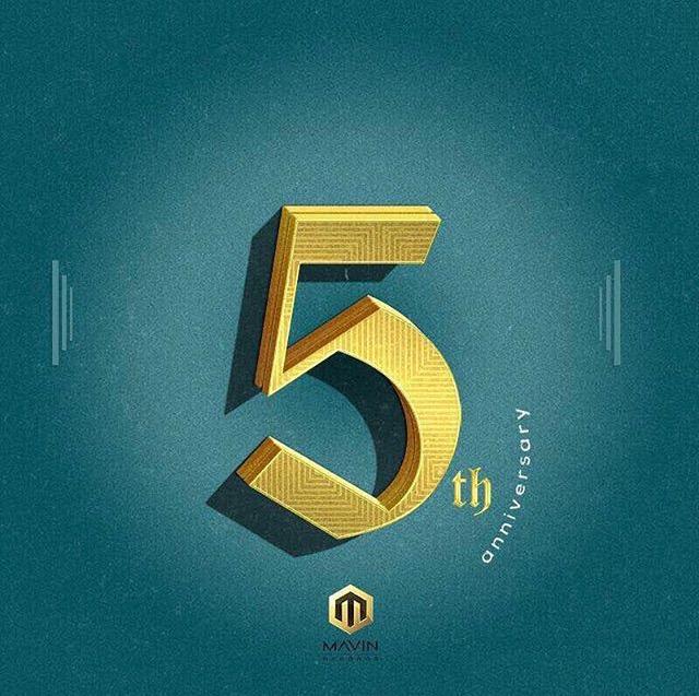 Mavin is 5