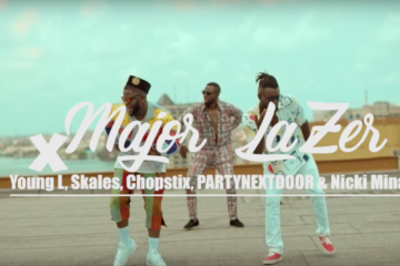 VIDEO: Major Lazer ft. Partynextdoor, Nicki Minaj, Yung L, Skales & Chopstix – Run Up (Afrosmash Remix)