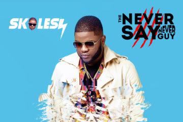 "Skales Unveils Album Art & Tracklist To ""The Never Say Never Guy"" Album"