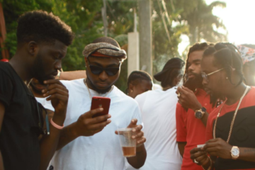 "Davido & Popcaan Shoot Video For ""My Story"" by Mini (E5 Records) In Jamaica"