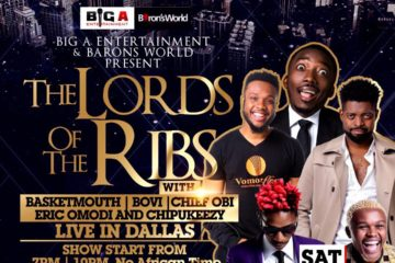 "Basketmouth & Bovi Bring ""The Lord of the Ribs"" To Dallas This Saturday, July 8 