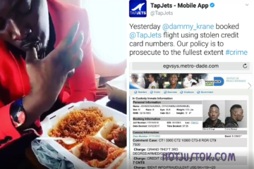 "VIDEO: Dammy Krane went from ""Licking His Hands"" in a Private Jet to Ending Up behind Bars for Using a Stolen Credit Card to Book It"