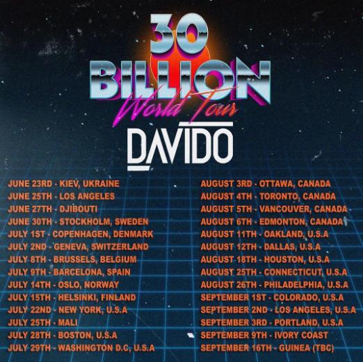 NotjustOk News: Davido Embarks On World Tour, D'Banj Set For Album #4, Phyno Slams Producer + More