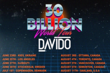 "Davido Announces ""30 Billion World Tour""!"