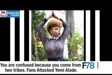 F78NEWS: Yemi Alade Reacts To Igbo Ultimatum, Stonebwoy + Shatta Wale Drama, Cassper + Charlamagne
