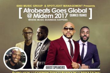 Afrobeats Goes Global @ MIDEM 2017 | Cannes, France