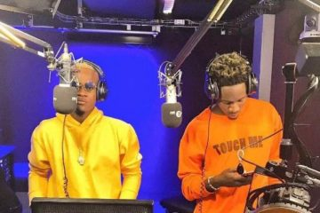 VIDEO: Mr. Eazi x Dotman's Freestyle On BBC 1Xtra