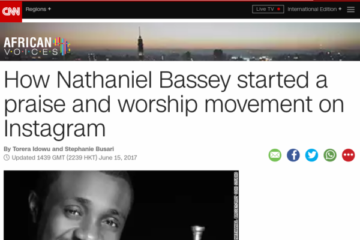Just Like That, CNN Speaks To Nathaniel Bassey On The #HalleluyahChallenge | Olowo Gboboro