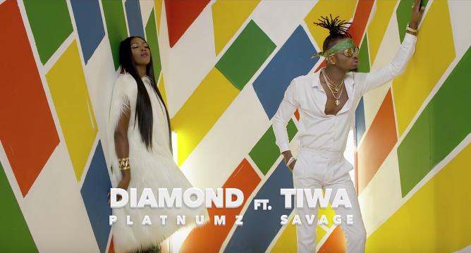 VIDEO Premiere: Diamond Platnumz Ft. Tiwa Savage - FIRE