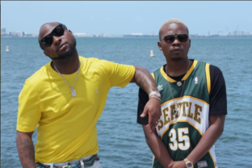 Olamide x Davido Shoot Video For New Single In Miami | PHOTOS