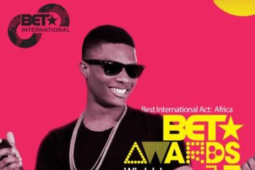 "Wizkid Wins ""Best International Act: Africa"" Award @ #BETAwards2017"