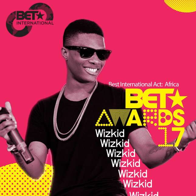 "Wizkid Wins ""Best International Act: Africa"" Award @ #BETAwards2017"