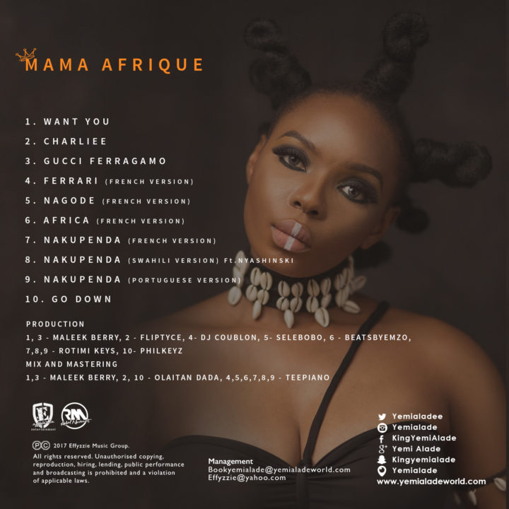 Yemi Alade - Nakupenda (Swahili Version) Ft. Nyashinski