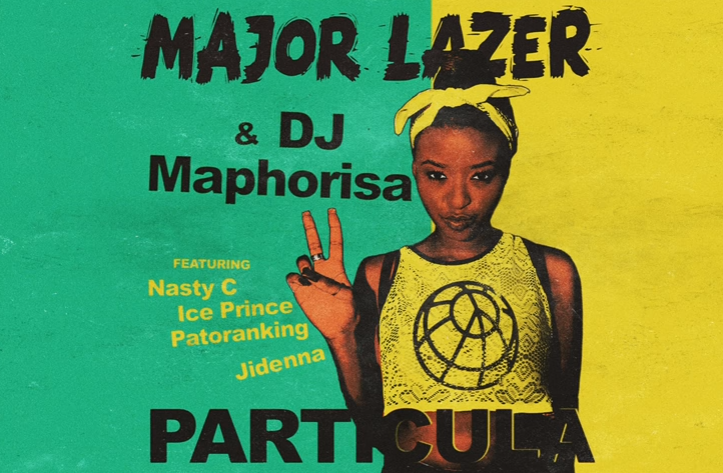 Major Lazer - Particula Ft. Patoranking, Ice Prince, Jidenna & Nasty C