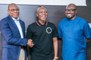 Olamide Is On A Wavy Level As He Signs Ambassadorial Deal With Sterling Bank Plc