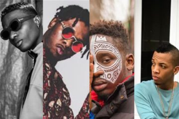 Nigerian Artistes Dominate Best African Act Category at GMA Uk 2017
