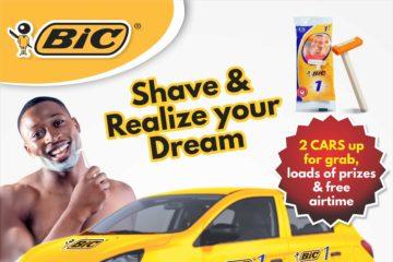 BIC1 Shaver Unveil Consumer Promo