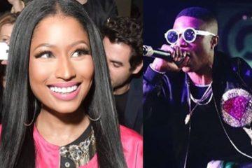 Nicki Minaj Feeling The Vibe As Wizkid Shuts Down D.C