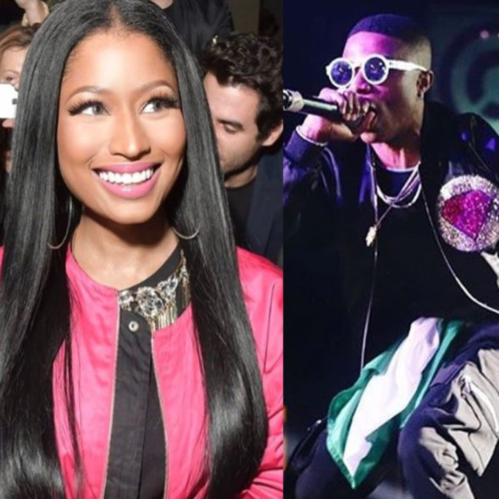 Nicki Minaj Feeling The Vibe As Wizkid Shuts Down D C