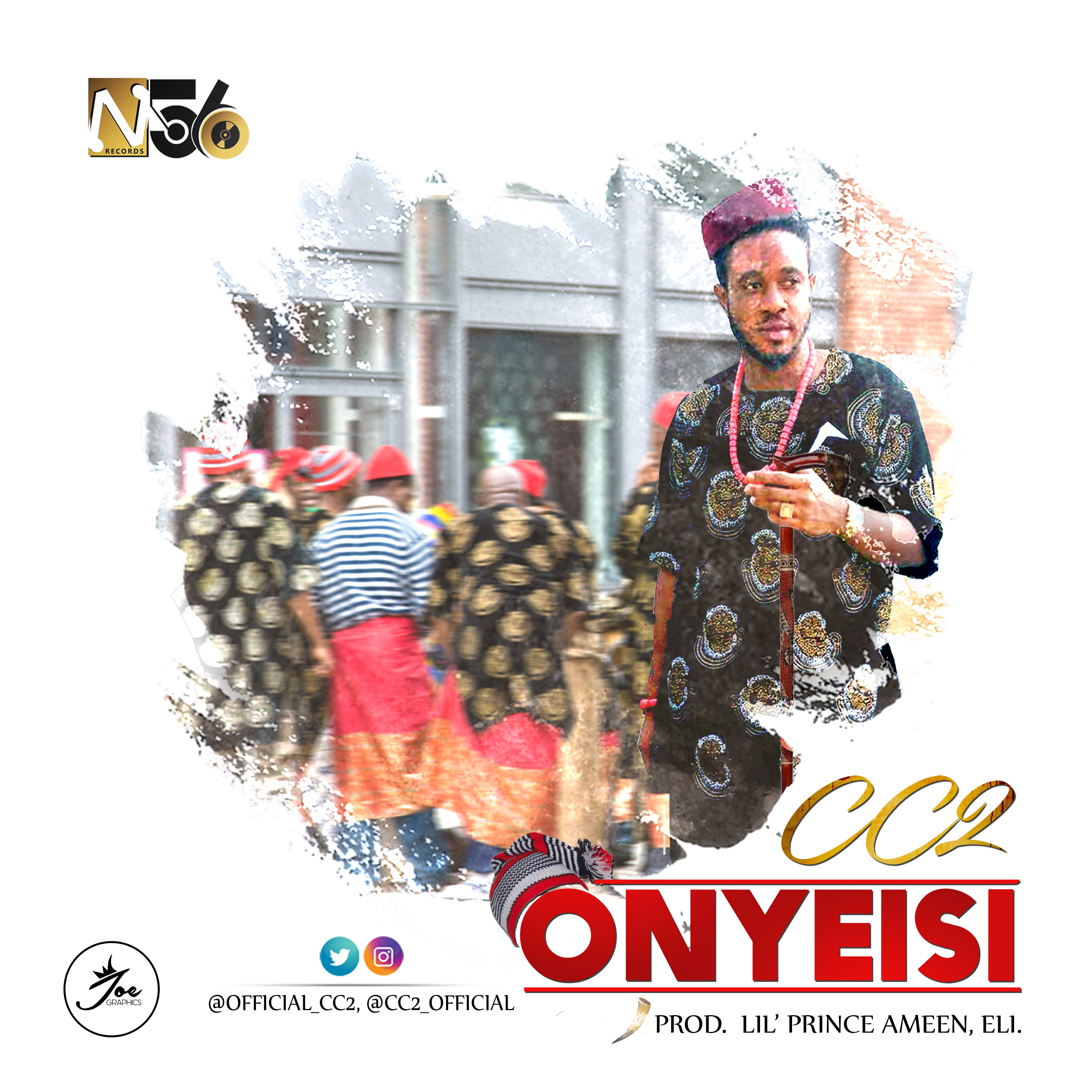 CC2 – ONYEISI (Prod. by Lil' Prince Ameen)