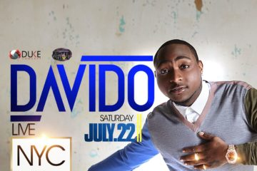 "Davido's ""30 Billion World Tour"" Moves To The US w/ Megashow In NY, July 22 