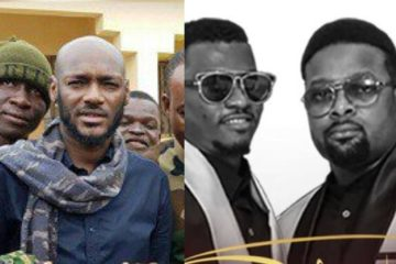 2Baba Visits IDP Camps In Nigeria, Announces Stylplus' Performance