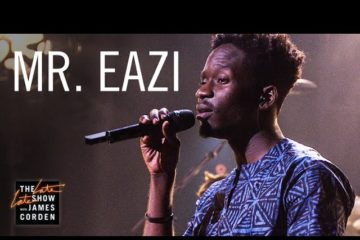VIDEO: Mr Eazi Performs Live On The Late Late Show With James Corden