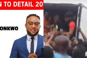 KCee Commences Campaign, Shares Rice & Oil To People In Aj City