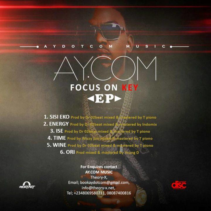 "Ay.com - ""Focus On Key"" EP | DOWNLOAD"