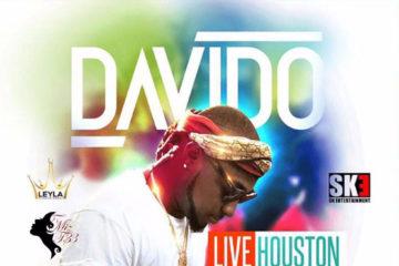 Davido Live In Houston This Friday, Aug 18 | #30BillionWorldTour | View Details
