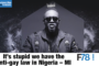 "F78NEWS: ""It's Stupid We Have Anti-Gay Law in Nigeria"" – M.I, Diamond Platnumz, Maxi Priest"