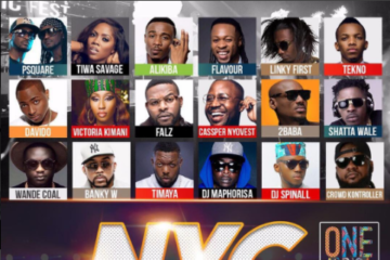 One Africa Music Fest Returns To New York City – Saturday, August 19