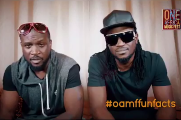 "VIDEO: P-Square Share 5 Fun Facts | One Africa Music Fest ""The Return NYC"""