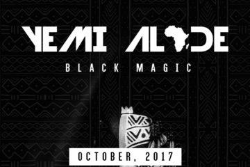 """Yemi Alade Unveils Third Studio Album Artwork """"Black Magic"""""""