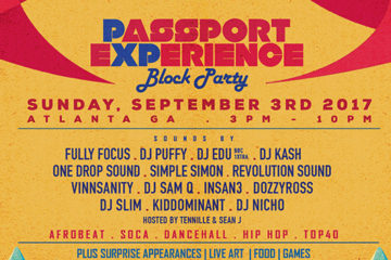 Passport Experience Block Party