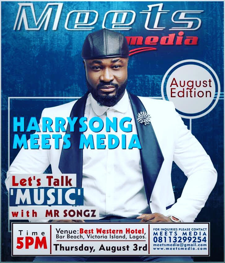 Harrysong & Doris Simeon Set for 'Don Fodio' this Thursday at MeetsMedia August Edition