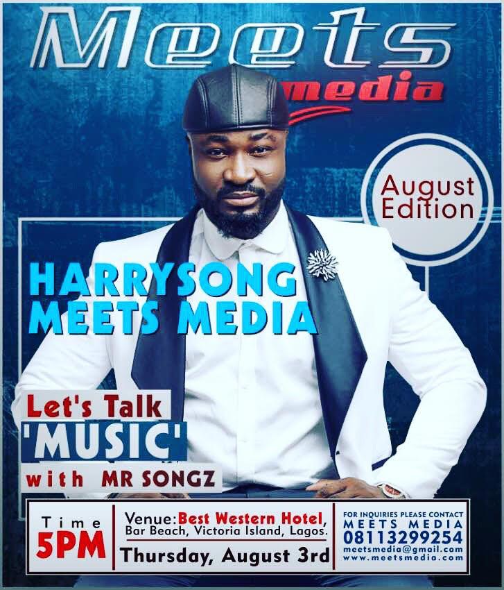 Harrysong & Doris Simeon Set for 'Don Fodio' this Thursday at MeetsMedia August Edition