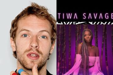 "Coldplay Chris Martin Endorses Tiwa Savage's EP ""Sugarcane"""