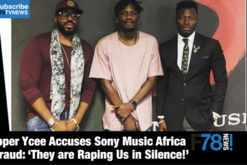 F78NEWS: Ycee Accuses Sony Music Africa of Fraud, M.I. – I Am Disappointed In Nigerian Hip Hop + More
