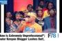 "F78NEWS:""Tekno Is Extremely Unprofessional""; Kenyan Blogger Lashes Out!, Mr Eazi Vs Fans"