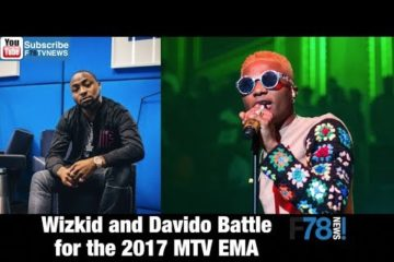 F78NEWS: Wizkid & Davido Battle for the 2017 MTV EMA, Dj Olu, YCEE, Cassper Nyovest, Cardi B + More