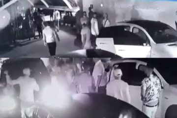 Davido Releases CCTV Clips On Last Moment With Tagbo | Watch