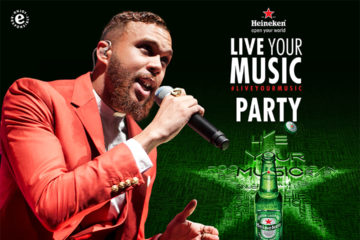 Music Takeover! Heineken Unveils Jidenna As Host Of Heineken's Live Your Music parties in Abuja and Lagos