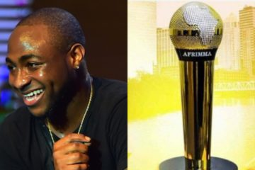 Davido Wins Big For 'IF' At AFRIMMA 2017