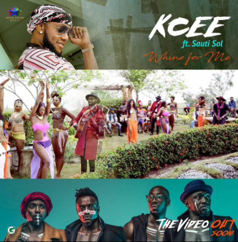 Kcee - Whine For Me Ft. Sauti Sol