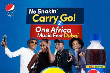 Pepsi's Back Again With #NoShakinCarryGo – TO DUBAI