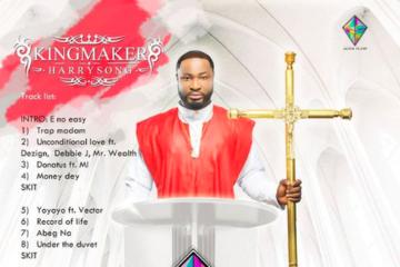 "Harrysong Unveils Artwork for ""King Maker"" Album"