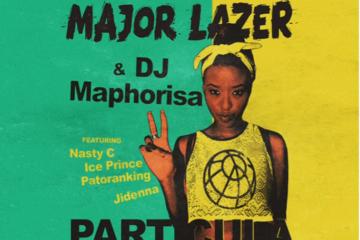 VIDEO: Major Lazer & DJ Maphorisa – Particula ft. Nasty C, Ice Prince, Patoranking & Jidenna